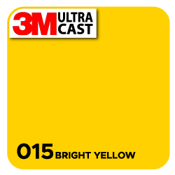 Bright Yellow (015) 3M Ultra™ Cast