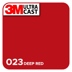 3M Ultra™ Cast Deep Red (023)