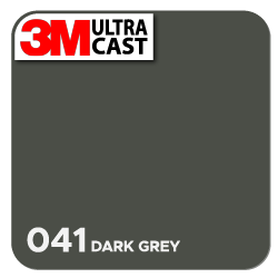 Dark Gray (041) 3M Ultra™ Cast