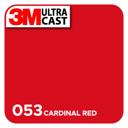 3M Ultra™ Cast Cardinal Red (053)