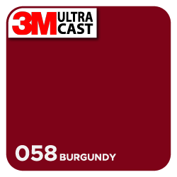 3M Ultra™ Cast Burgundy (058)