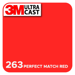 Perfect Red (263) 3M Ultra™ Cast