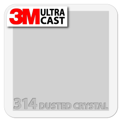 Dusted Crystal (314) 3M Ultra™ Cast