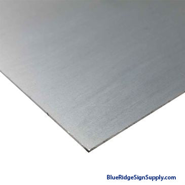 Aluminum Mill Sheet 4 x 8 x .080""