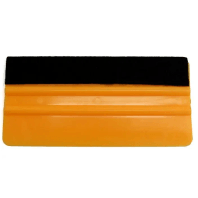 "6"" Felt Edge Yellow Squeegee"