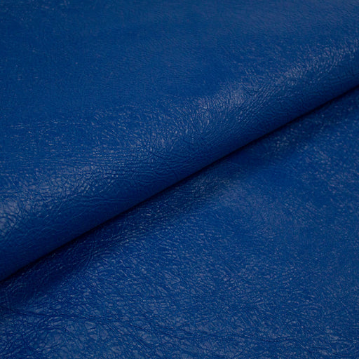 ELECTRIC BLUE RUSTIC GOAT LEATHER