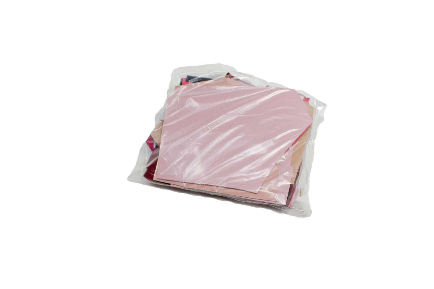 BAG OF 500 GR. SMALL PATENT LEATHER RETAL VARIOUS COLORS