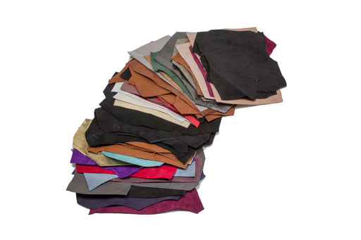 BAG OF 500 GR. SMALL FINE SCRAPS OF VARIOUS COLORS