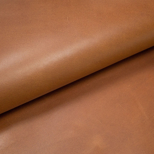 OILED CALF SKIN AGED LEATHER
