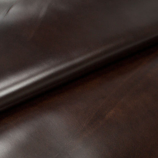 AGED BROWN OILED BOX LEATHER