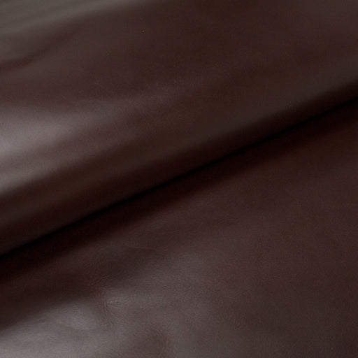 COW LEATHER OILED MAHOGANY