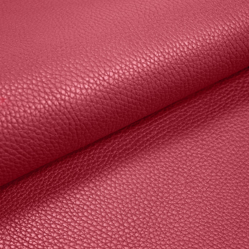 COW LEATHER DARK PINK UPHOLSTERY