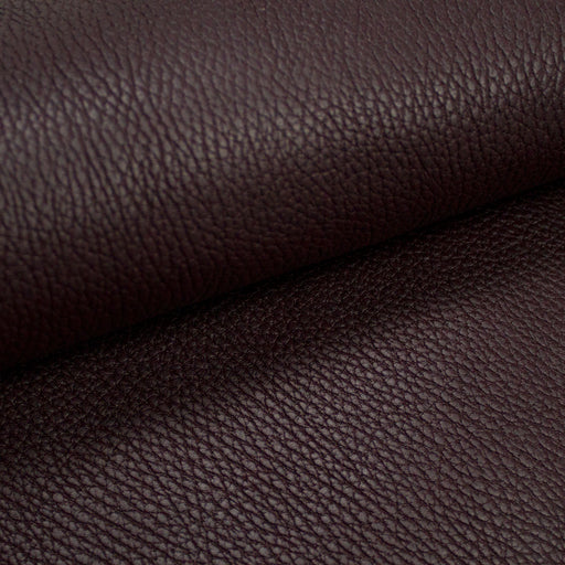 COW LEATHER UPHOLSTERY DARK PURPLE