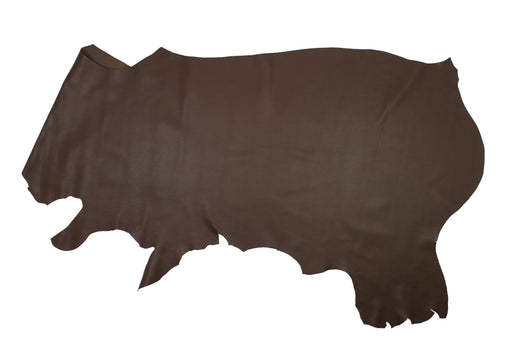 MEDIUM BROWN TAPESTRIES COW LEATHER
