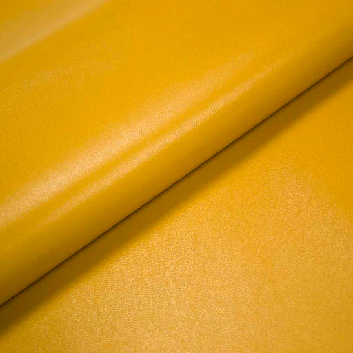 LAMB LEATHER MADE MUSTARD