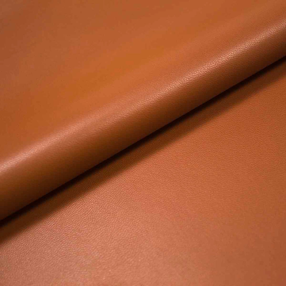 LAMB LEATHER BROWN CONFECTION