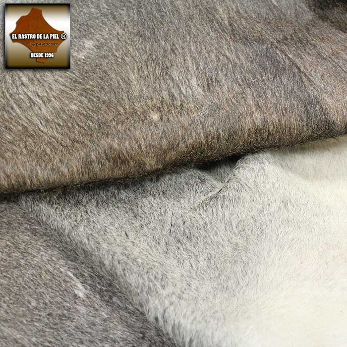 NATURAL COW LEATHER RUG