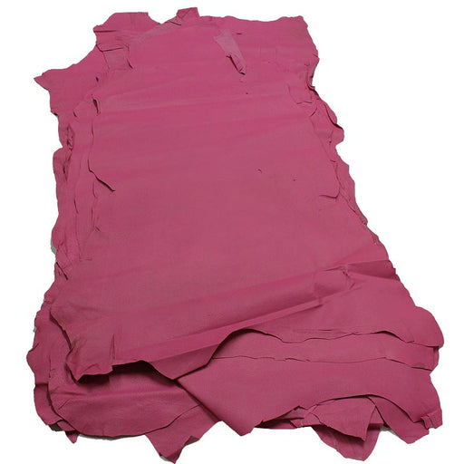 IRONED PIG LEATHER FUCHSIA