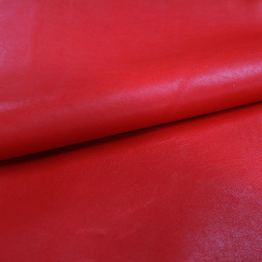RED LEATHER CLOTH LEATHER