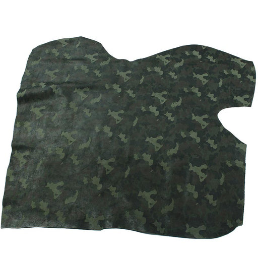 COW SUEDE LEATHER FANTASY MILITARY CAMOUFLAGE