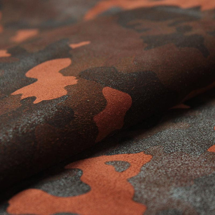 FANTASY SUEDE LEATHER CAMOUFLAGE TILE