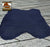 DARK BLUE PLUSH SUEDE LEDER REF. SC-002-1011