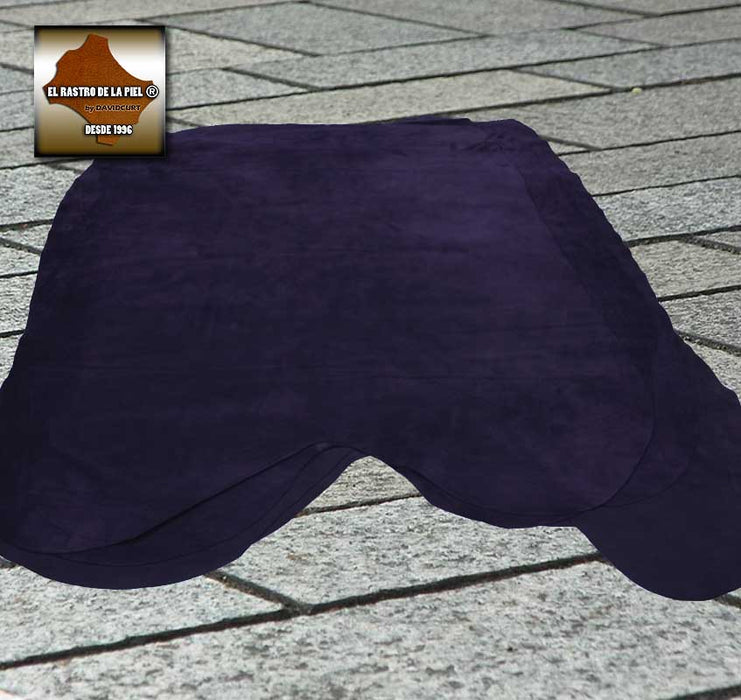 PURPLE PLUSH SUEDE LEATHER REF. S-339-910