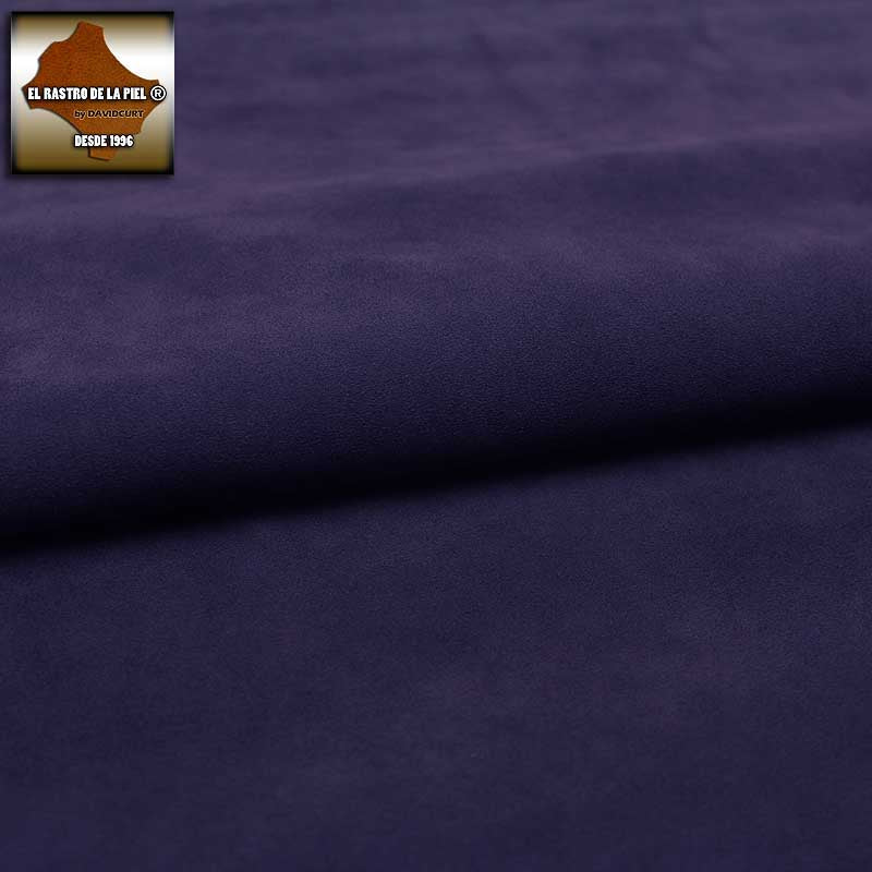 PURPLE PLUSH SUEDE LEATHER REF. S-387-1314