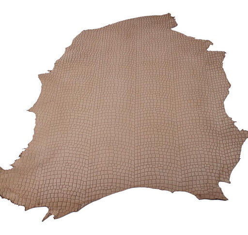 NATURAL COCO EMBOSSED COW LEATHER