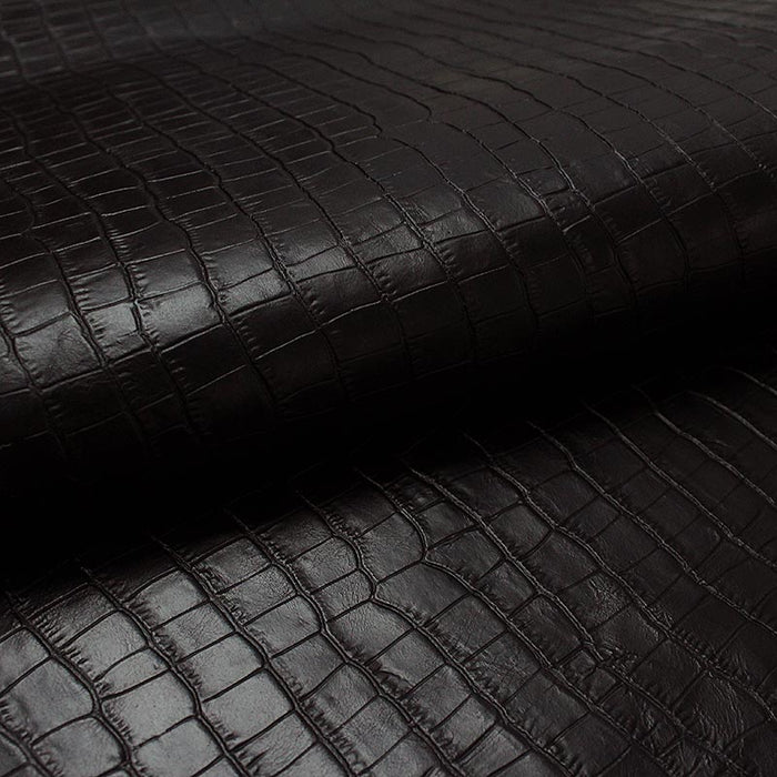 BLACK COCO ENGRAVED COW LEATHER