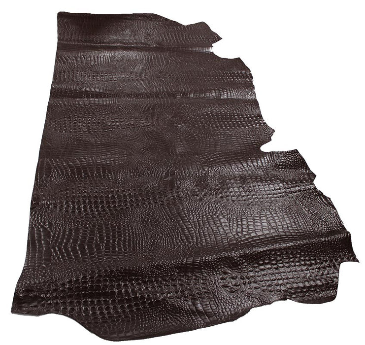 NIGER CROC EMBOSSED COW LEATHER