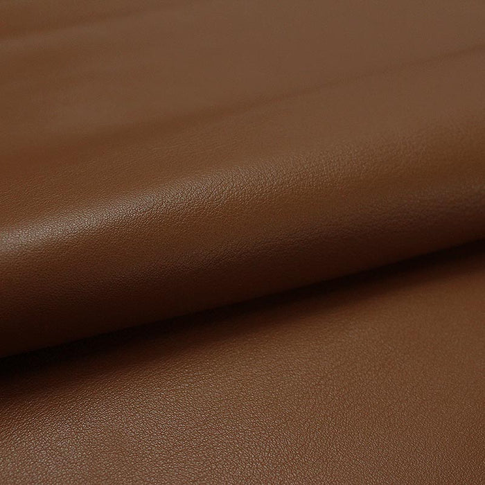 BROWN BOX LEATHER