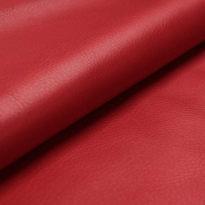 FERRARI RED COW LEATHER
