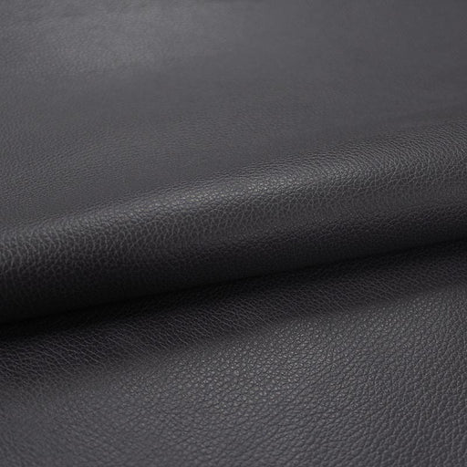 COW LEATHER DARK GRAY UPHOLSTERY