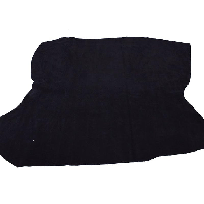 PIECE OF NAVY SUEDE LEATHER