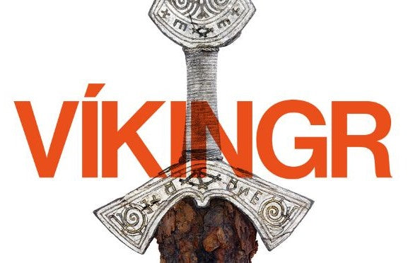 The VÍKINGR Exhibition at the Museum of Cultural History - Gold jewelry from the Viking age and before.