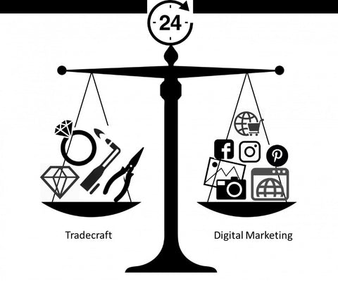 Balancing the Jewelry Trade and Digital Marketing
