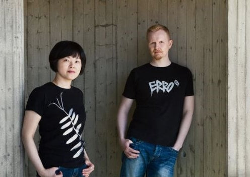 Chao-Hsien Kuo and Eero Hintsanen photographed together. Norwegian Jewelry interviewed them in October 2018.
