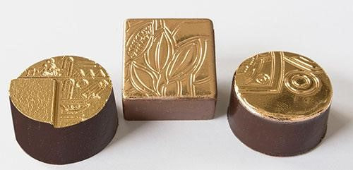Chocolate covered with gold foil - Norwegian Jewelry Blog