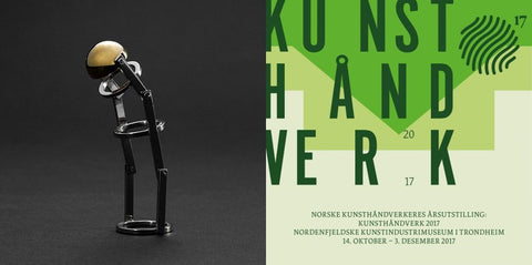 LyktAS at Kunsthåndverk 2017 - Andre Normann Norwegian Jewelry Designer and Goldsmith