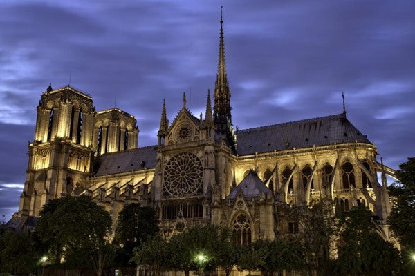 Notre-Dame Cathedral in Paris is an example of Gothic Architecture - Wikipedia. Norwegian Jewelry Blog.