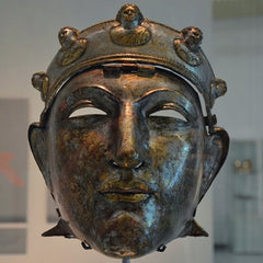 The Nijmegen Roman Cavalry Helmet dating back to the 1st Century AD (Wikimedia Commons)