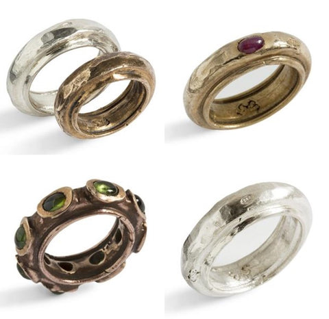 Simone Vera Bath Fedone Rings, featured in the Norwegian Jewelry Interview
