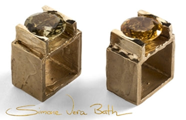 Simone Vera Bath Big Square Ring - featured in Norwegian Jewelry Interview