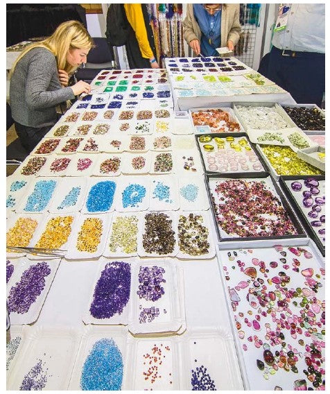 The Amber Trip has attracted wide range of gemstone suppliers.