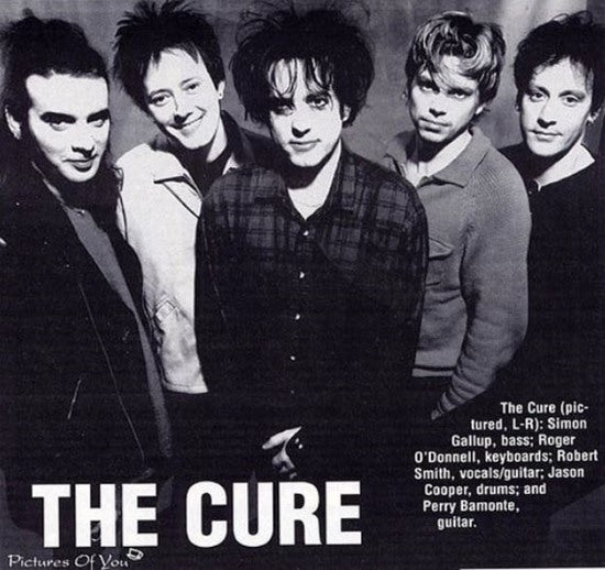 The Cure is one of the original Goth bands  ca. 1980s - Photo by Upjohn.net - Norwegian Jewelry Blog