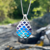 Mosaic pendant by A+G Design in Kristiansand, Norway - Norwegian Jewelry