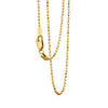 ADAMANTINA Gold Chain by Undlien design - Norwegian jewelry designer in Oslo, Norway.