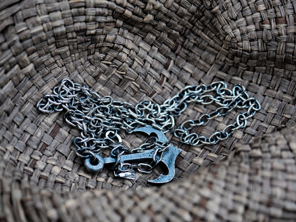 Sjür Jewelry - Anchor Pendant Pendants - Norwegian Jewelry features artisan jewellery designers and goldsmiths from Norway.