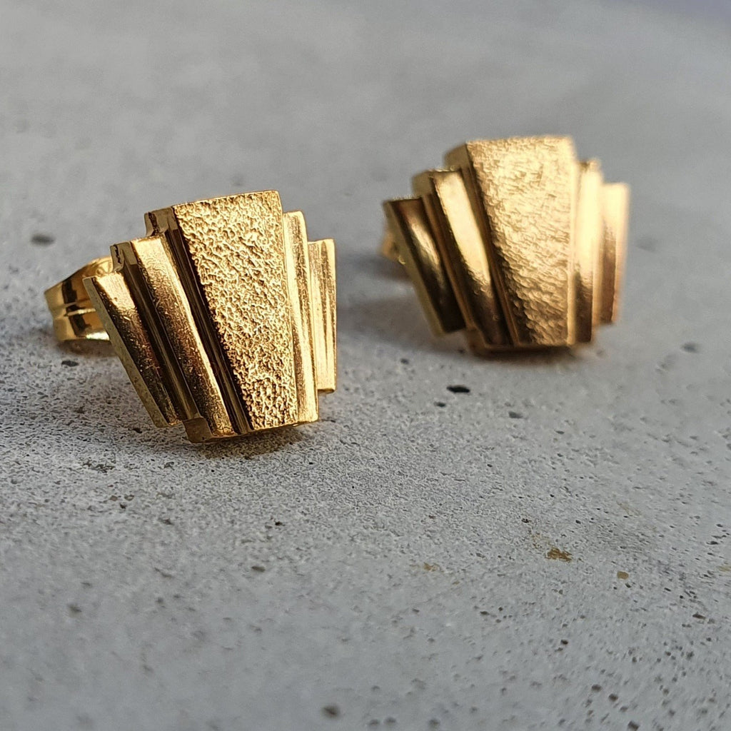 André Normann Art Deco Earrings | Norwegian Jewelry designer and goldsmith in Østfold, Norway